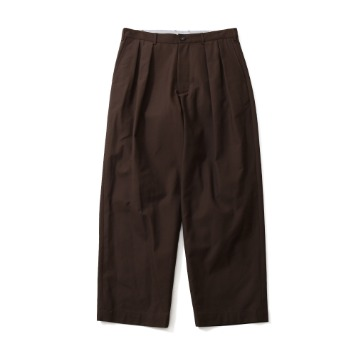HORLISUNCorinth Wide Loose Pants(Brown)