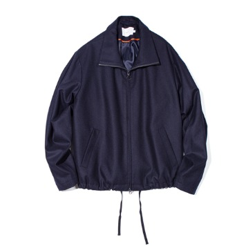 OUR SELVESFine Wool Realxed Blouson(Navy)