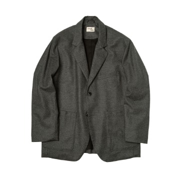ROUGH SIDE210. Club Jacket(Charcoal)