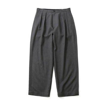 HORLISUNCorinth Napping Wide Loose Pants(Melange Gray)