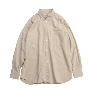 YOU NEED GARMENTSTencel Relaxed B.D Shirts(Beige)