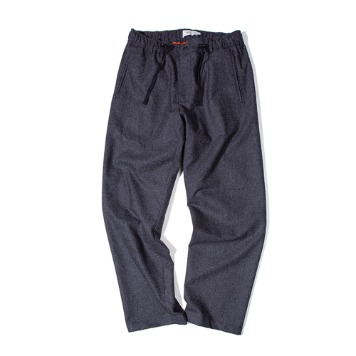 OUR SELVESFine Wool Wide Slumber Pants(Charcoal)