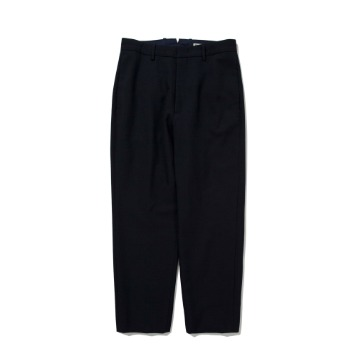 POTTERYWool Tapered PantsBritish Wool Gabardine Cloth(Navy)