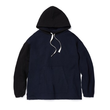 ESFAI X OURSELVESConnection Hoodie(Navy/Black)
