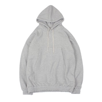 YOU NEED GARMENTSBanded Hoodie(Melange Gray)