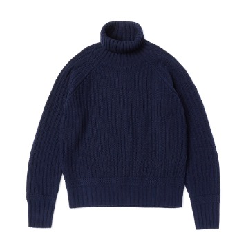 ESFAI X AMFEASTUnisex Fisherman Knit(Navy)30% OFF