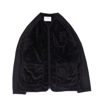 YOU NEED GARMENTSMole Fleece Jacket(Black)30% OFF