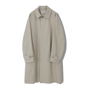 Kick The BeatUnisex Twill Mac Coat(Beige)