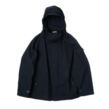 ROUGH SIDE308. Rocky Smock Parka(Navy)