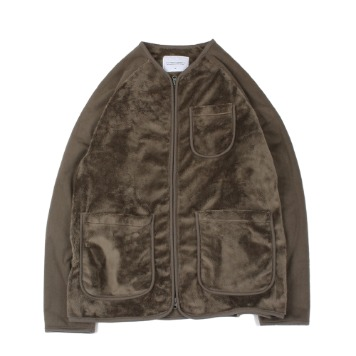 YOU NEED GARMENTSMole Fleece Jacket(L.Gray)30% OFF