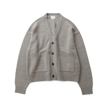 HORLISUNElliot Heavy Knit Cardigan(Melange Beige)10% Off