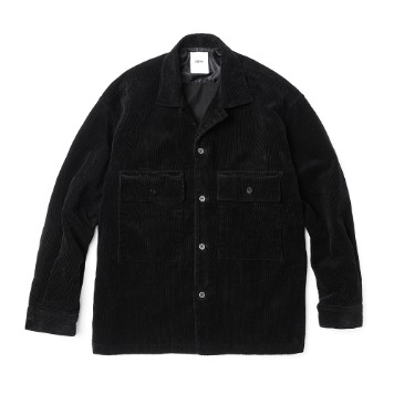 ESFAISO25 Corduroy Set Up Jacket(Black)30% OFF