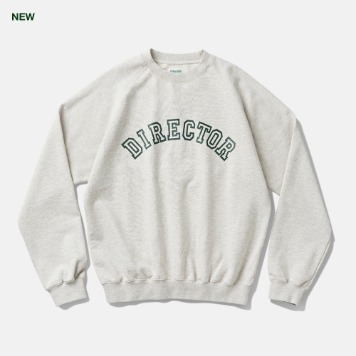 DEUTERODTR196 DTRO + AFST Director Sweat Shirts(Melange Grey)