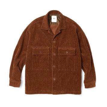 ESFAISO25 Corduroy Set Up Jacket(Brown)30% OFF