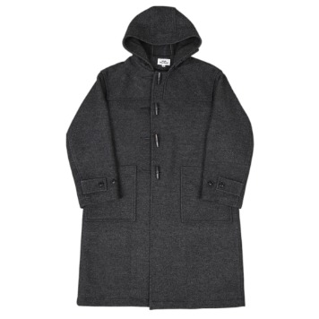 Kick The BeatDuffle Coat(Charcoal)