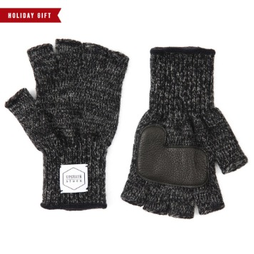 *2020 HOLIDAY GIFT GUIDE**RESTOCK*UPSTATE STOCKFingerless Glove with Deer Skin(Black)20% OFF