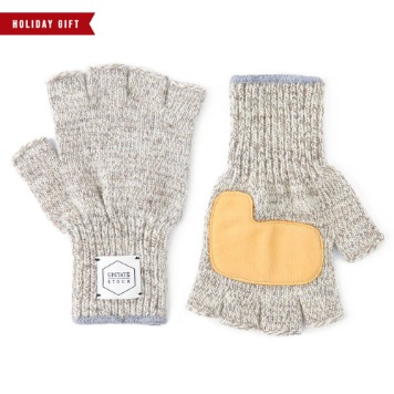 *2020 HOLIDAY GIFT GUIDE*UPSTATE STOCKFingerless Glove with Deer Skin(Oatmeal)