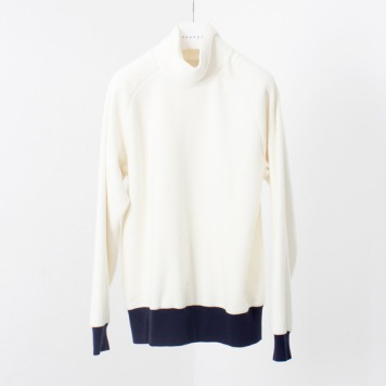 DOCUMENTFleece Turtle Neck(Off White)
