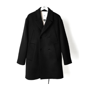 POLYTERUP68 Pea Coat(Black)