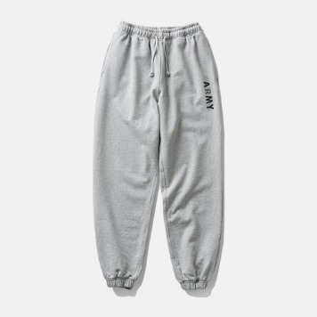DEUTERODTR1958 90s ARMY Sweat Pants(Melange Grey)