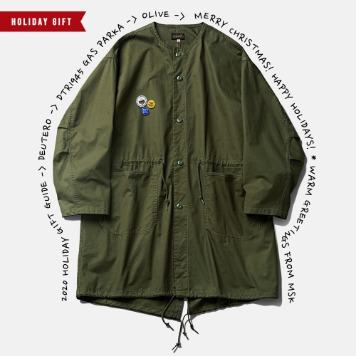 *2020 HOLIDAY GIFT GUIDE*DEUTERODTR1945 Gas Parka(Olive)30% Off