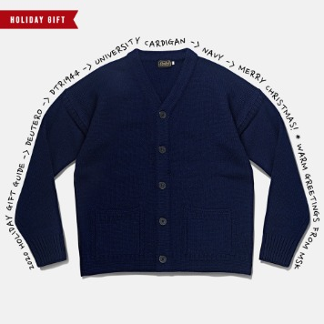 *2020 HOLIDAY GIFT GUIDE*DEUTERODTR1944University Cardigan(Navy)30% Off