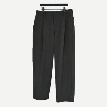 CHAMA SPORTS LAB.CSL Unisex Tuck Wide Pants(Charcoal)