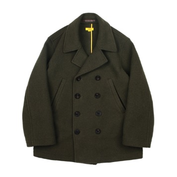 THE RESQ & CONaval Pea Coat(Moss Green)