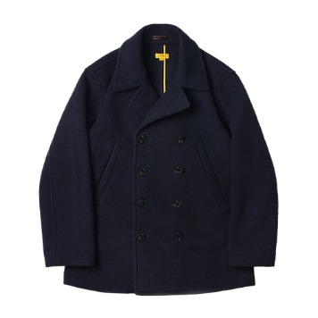 THE RESQ & CONaval Pea Coat(Deep Ocean)