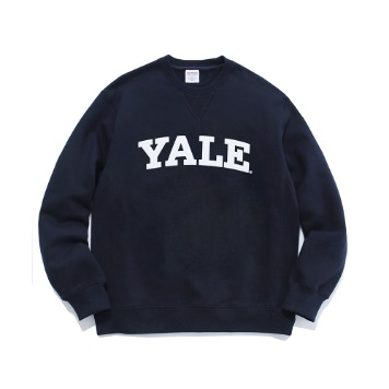 PHYS.ED DEPT(YALE HEAVY WEIGHT)College Crewneck(Navy)