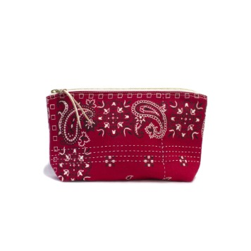 CACTUS SEWING CLUBUtility Pouch Size 02(Red)