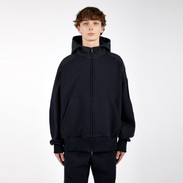 AFTER PRAYFountain Pannel Zipup Hoodie(Navy)