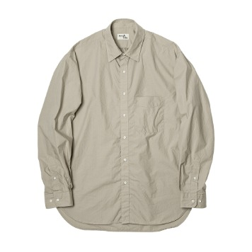 ROUGH SIDEShirring Shirt (Humus)