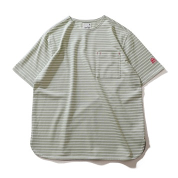 HORLISUNUnion Short Sleeve Pocket T-Shirts(Mint)