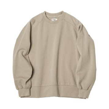 ROUGH SIDERaglan Sweat Shirt(Beige)