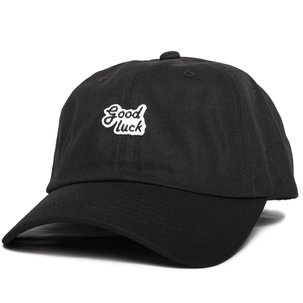 GOOD NIGHT & GOOD LUCKCotton Ball Cap(Black)
