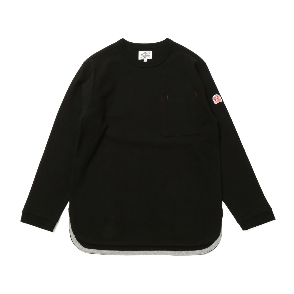 HORLISUNEmery Long Sleeve Pocket T(Black 803)10% off
