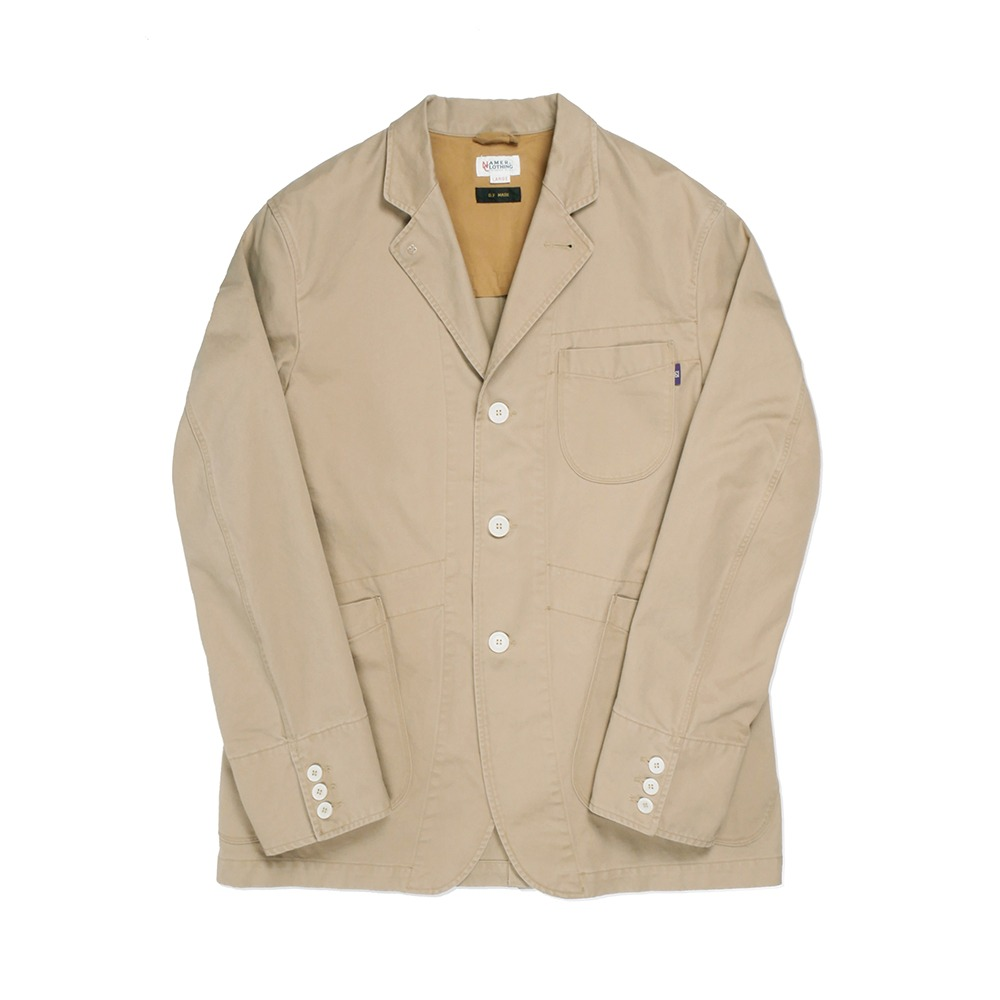 NAMER CLOTHINGSet Up Sports Jacket Washed Ver.(Beige)