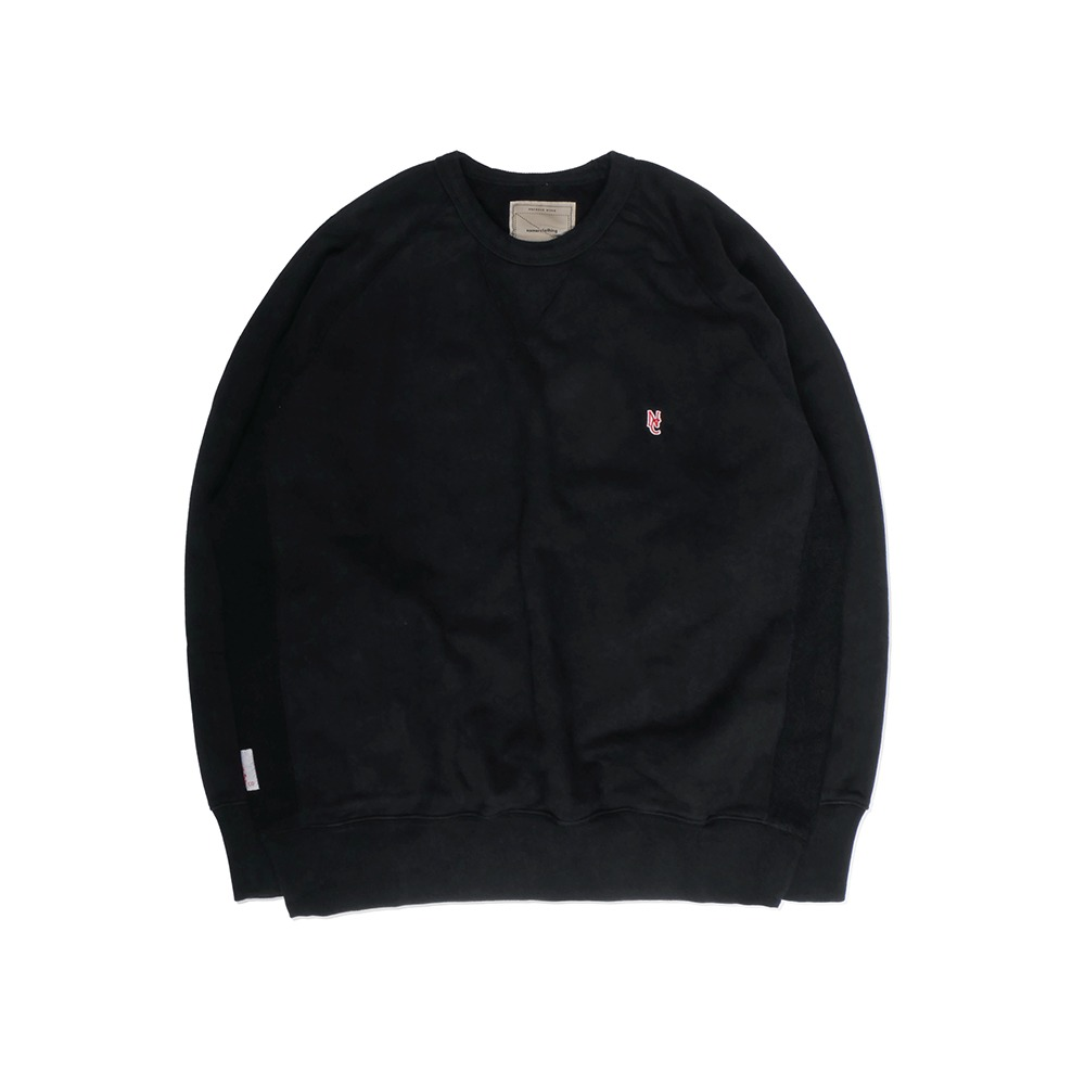 NAMER CLOTHINGStandard NC Sweat Shirt(Black)