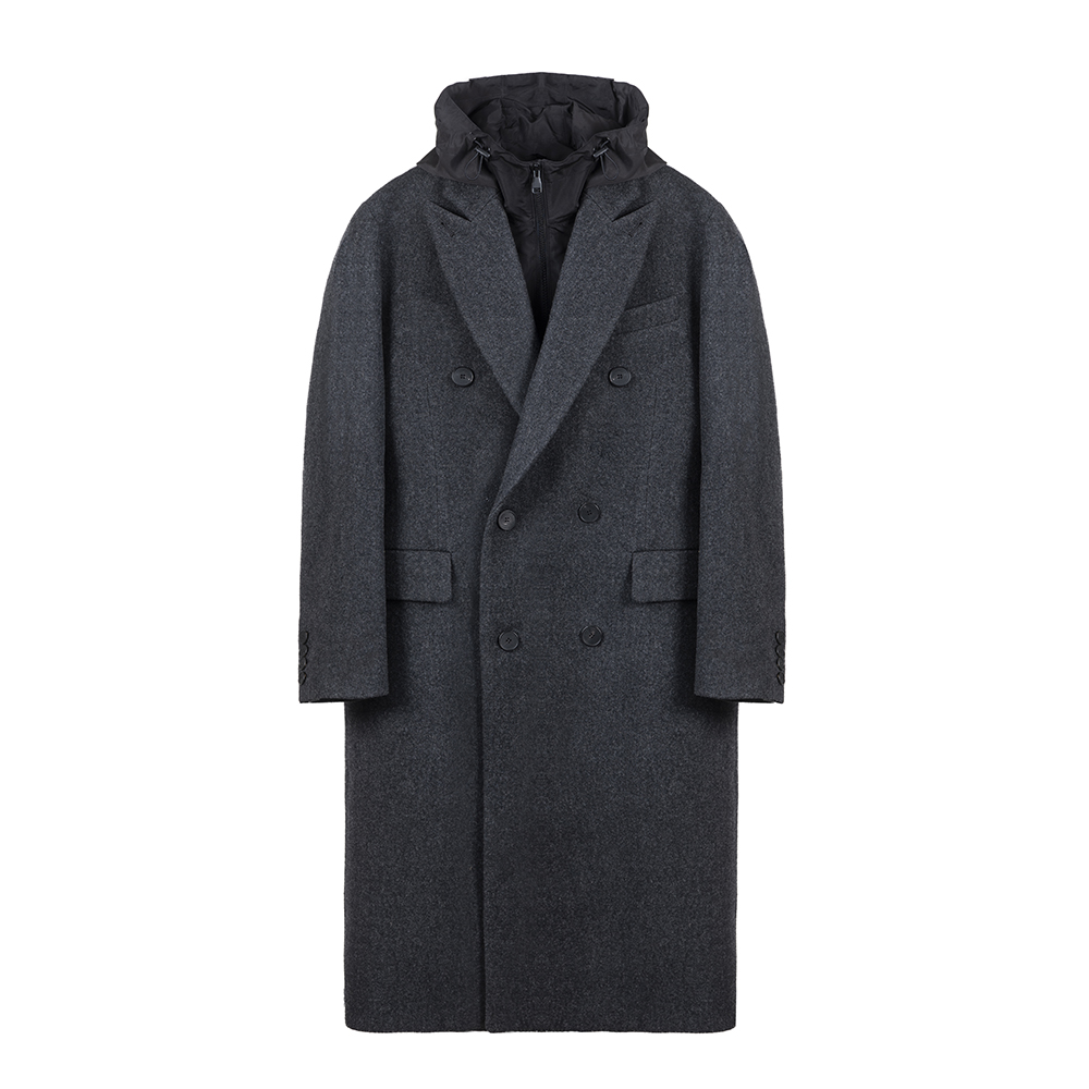 KEI CURRENTB Coat(Charcoal)10% Off