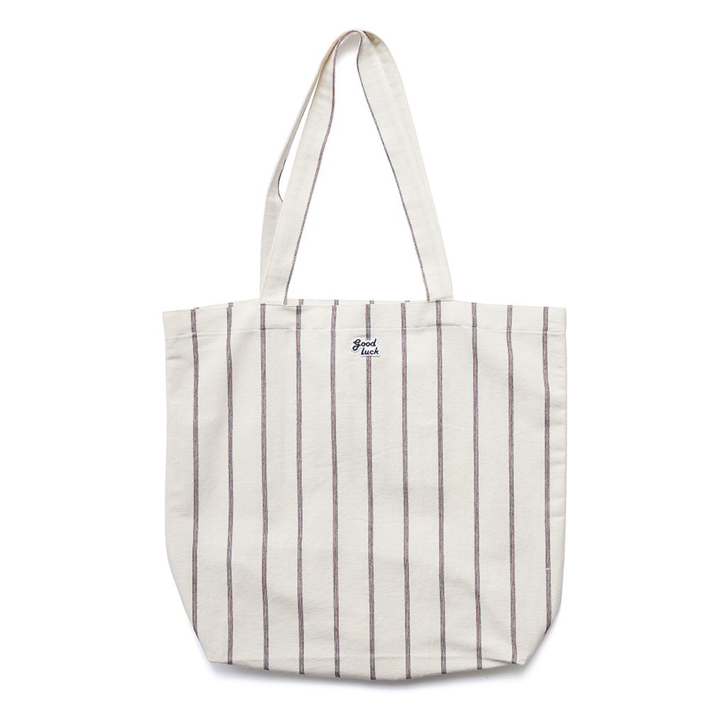 GOOD NIGHT & GOOD LUCKIrvine Tote(Organic Stripe)20% off w 35,000