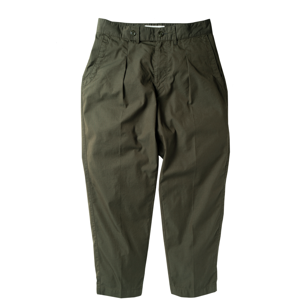 ROUGH SIDERelaxed Trousers(Olive)