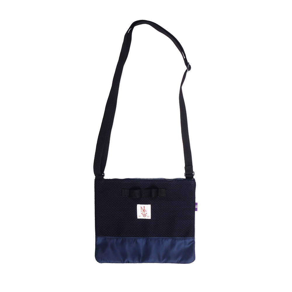 NAMER CLOTHINGPearlweave Sacoche Bag(Navy)