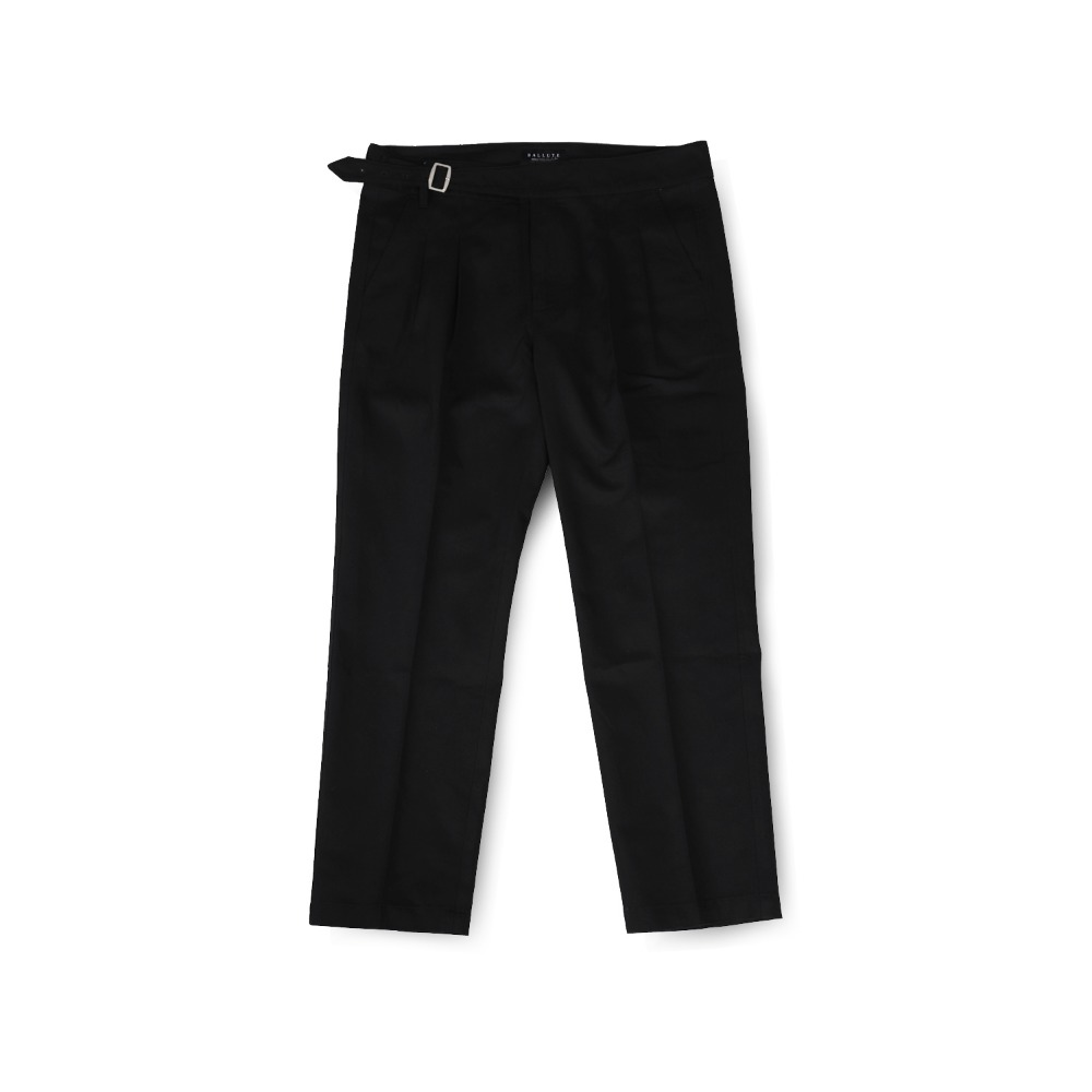 BALLUTEMagazine Single Guruka Pants (Black Cotton)30% Off