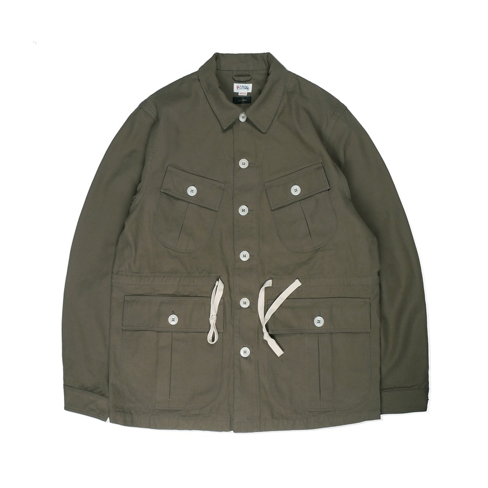 NAMER CLOTHINGBack Satin Jungle Fatigue Jacket(Olive)30% Off W168,000