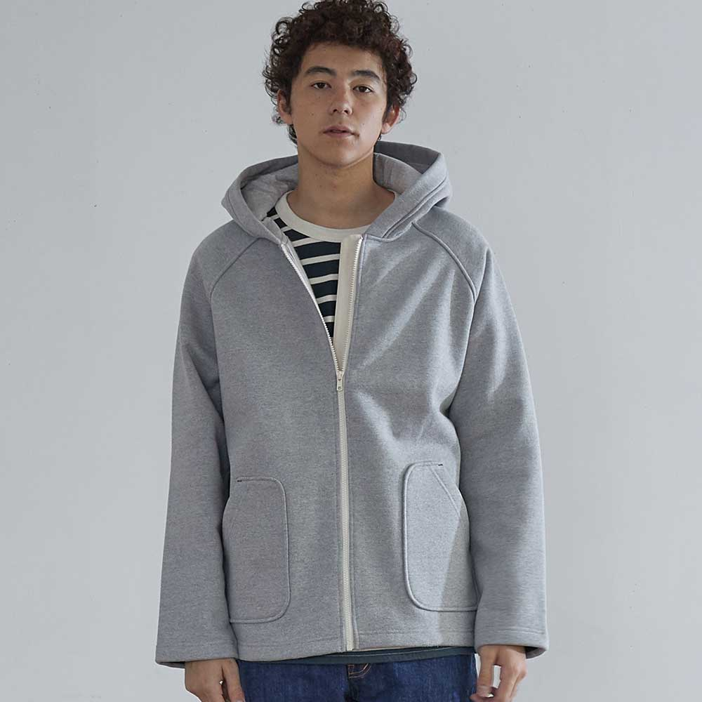HORLISUNWillow Zip Up Heavy Cotton Jacket(Grey)10% off