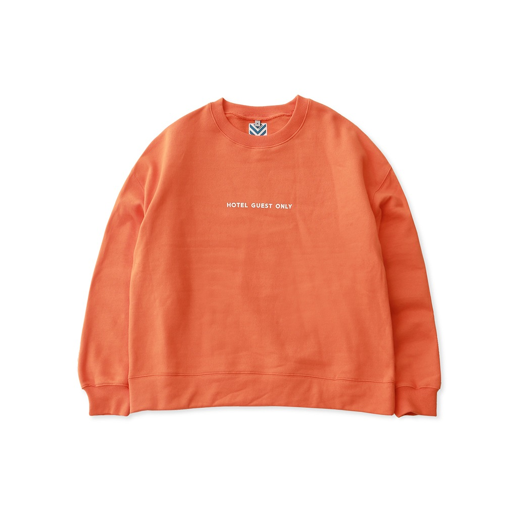 DAILY INNHotel Guest Only Heavy Weight Oversized Sweat(Orange)