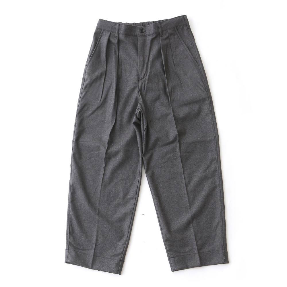 DAILY INNLobby Boy Easy Wide Pants(Grey Wool)20% off