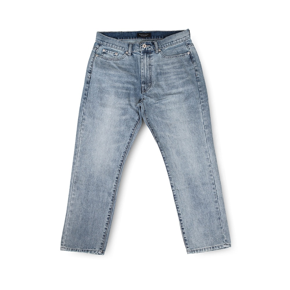 BALLUTESignature Denim Pants (Washed)