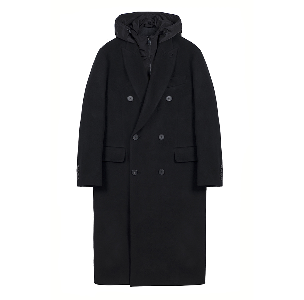 KEI CURRENTUnisex B Coat(Black)10% Off
